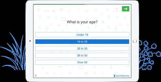 brand awareness survey template - mobile research templates quicktapsurvey