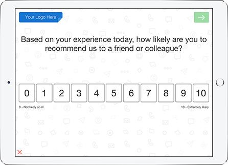 net promoter score nps survey template quicktapsurvey