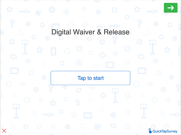 Digital Waiver & Release Form Template