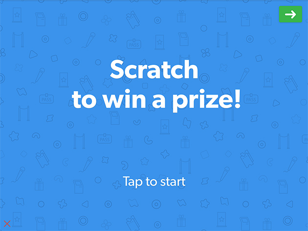Scratch To Win Contest Lead Capture Template