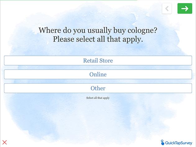 market research survey template quicktapsurvey
