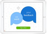 Start screen for offline survey