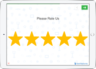 Star rating survey question type