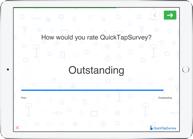 Sliding scale survey question type