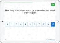 Nps net promoter score survey question type