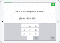 Telephone survey question type